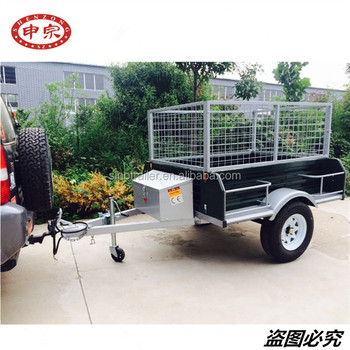 Small Car Camping Cargo Box Utility Trailer For Sale