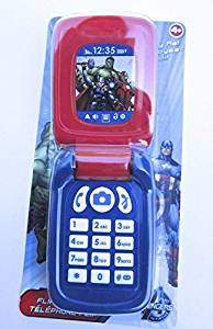 Marvel Avengers Flip Phone Toy Cell Phone by Blip Toy