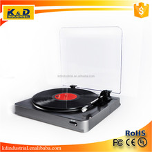 Wholesale Vinyl Record Gramophone Turntable Player