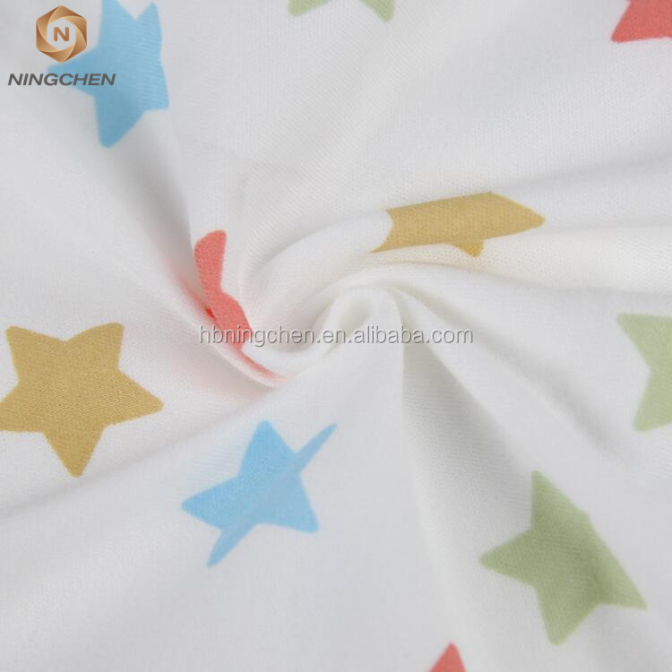 cotton Similar Products Contact Supplier Leave Messages wholesale baby printed cotton interlock knit fabric for baby clothes