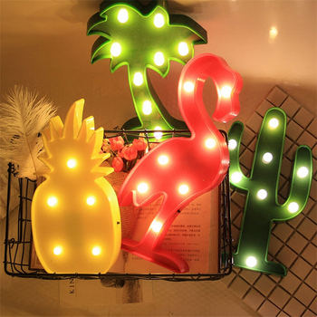 Bese Sale lighted flamingo marquee lights