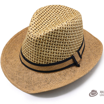 921bad0d211 Chinese hats 2017 sun cool beach travel floppy paper straw wide brim cowboy  hats made in