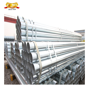 China factory Structural round iron 3/4 inch galvanized steel pipe