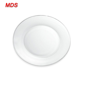 China Cheap Bulk Clear Glass Catering Dinner Plates Wholesale - Buy ...