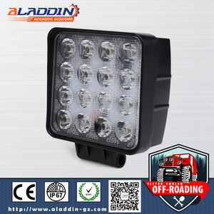wholesale price 12v/24v 48w led work light auto led off road driving lights with CE ROHS