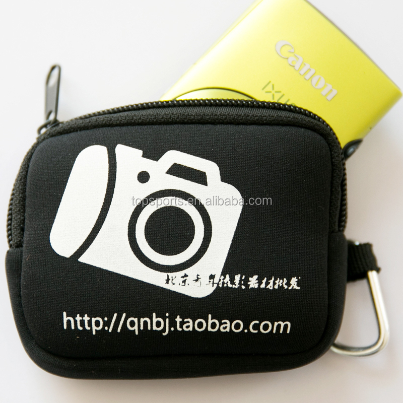 Professional Manufacture Neoprene Camera Pouch Bag