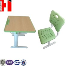 High quality customized aluminum alloy adult study table chair