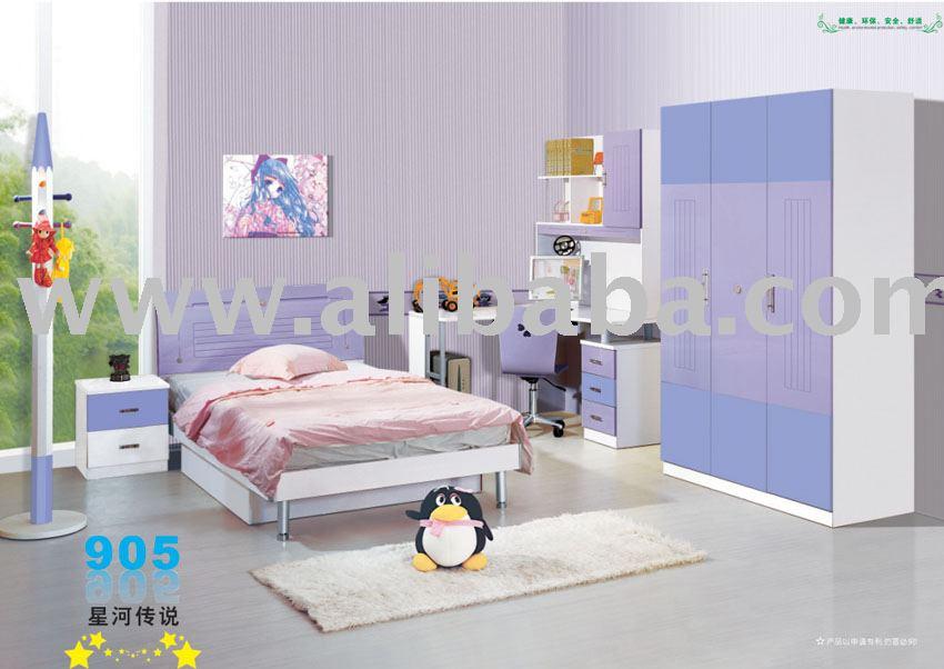 طقم غرفة نوم الأطفال مجموعات أثاث الأطفال معرف المنتج:103252034