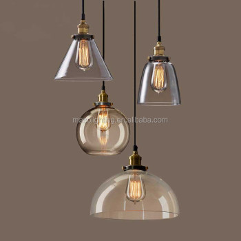 Modern industrial glass hanging pendant lamp e27 edison bulb copper modern industrial glass hanging pendant lamp e27 edison bulb copper light fixture restaurant coffee shop pendant mozeypictures Gallery
