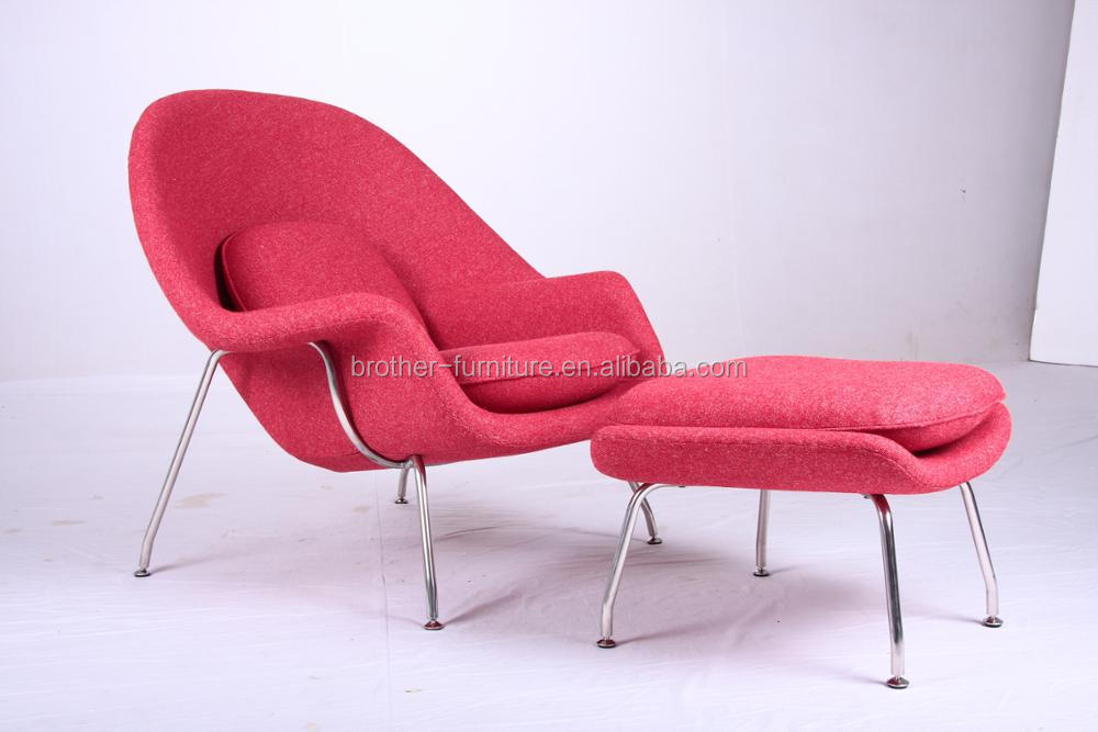 High End Message Womb Chair And Stool For Living Room - Buy Womb ...