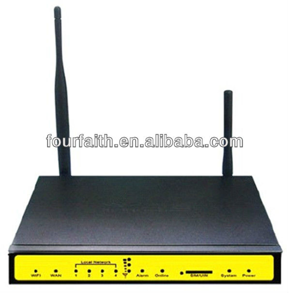 F3434 Industrial 3G Umts Wifi Modem HSPA+ SIM Card Wireless Ethernet M2M Modem with Bandwidth Bonding Wifi bng IPsec Server.