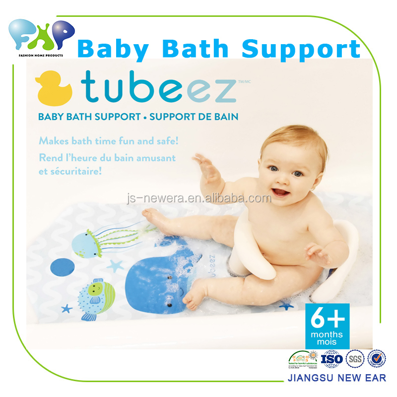 Safety Baby Bath Support,Cute Baby Bath Mat + Bath Seat Baby Set ...