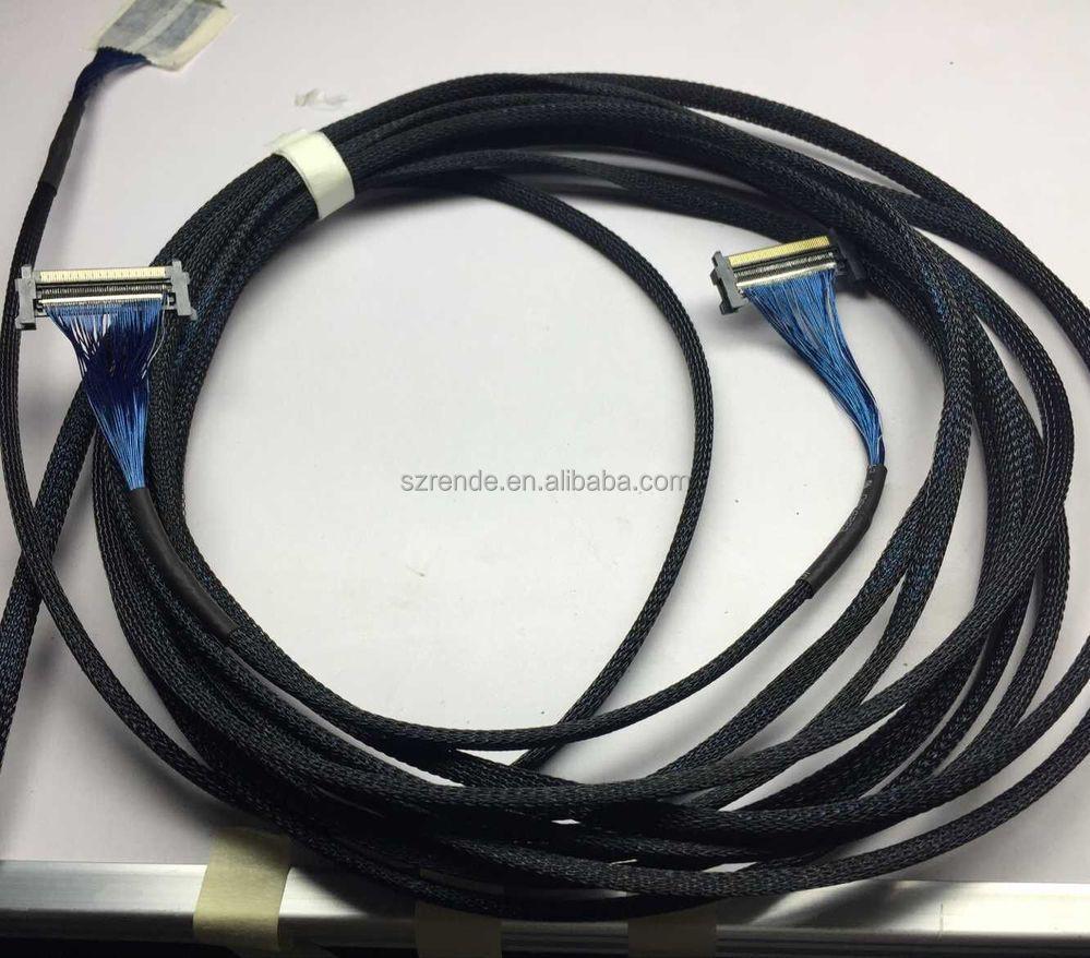 30pin 40pin Connector I Pex 20454 20410 Micro Coaxial Lvds