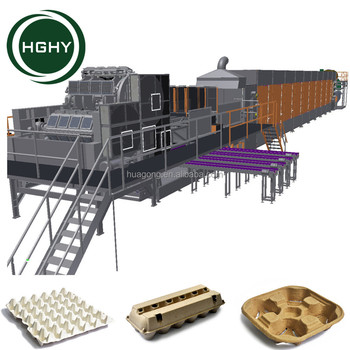 Professional Waste Paper Recycling egg tray machine production line for hot sale