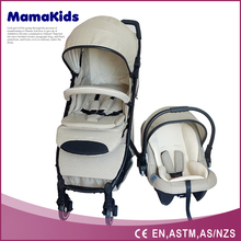 Exported to Germany ,Ploand baby stroller with carriage prices / classical big wheels baby pram / fold up baby stroller