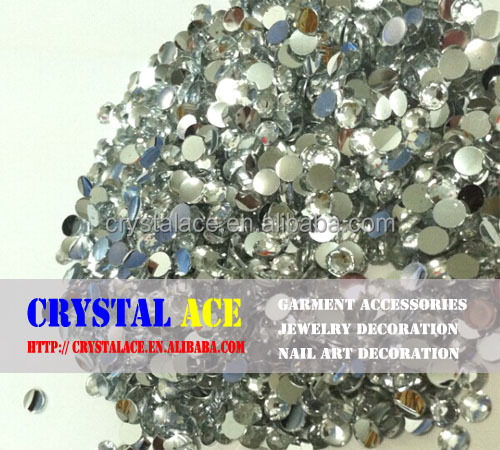 Factory direct sale flat back resin stones for Indian and Pakistan market