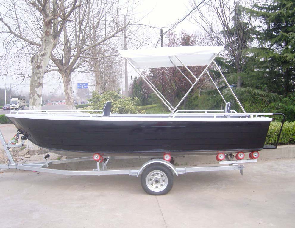 15ft ce certification aluminum fishing boat for sale view for Fishing pontoons for sale