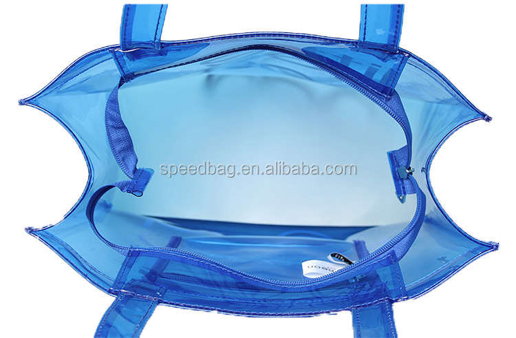 China custom pvc plastic waterproof ziplock bag