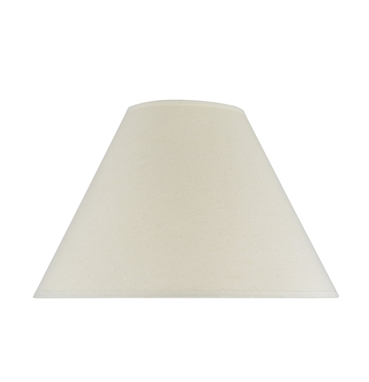 """Aspen Creative 32023 Transitional Hardback Empire Shape Spider Construction Lamp Shade in Off White, 18"""" wide (7"""" x 18"""" x 12 1/2"""")"""
