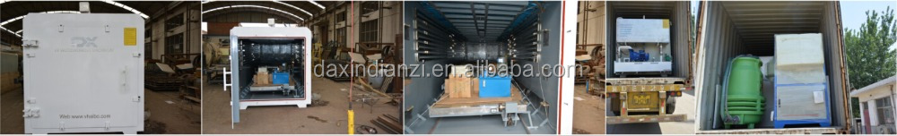 hf vacuum wood dryer shippment from DX