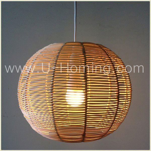 rotin pendentif abat jour plafond luminaire pendentif. Black Bedroom Furniture Sets. Home Design Ideas