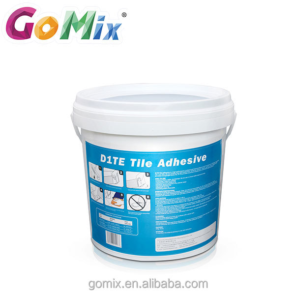 High bond strength excellent waterproof premixed tile adhesive glue
