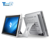 "15"" inch TFT capacitive touch screen panel industrial computer fanless pc"