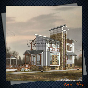 Modern House Elevation Designs Villa Style Small House