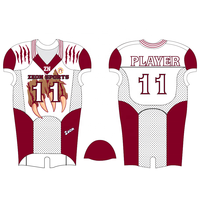 Custom wholesale sublimation American football uniform