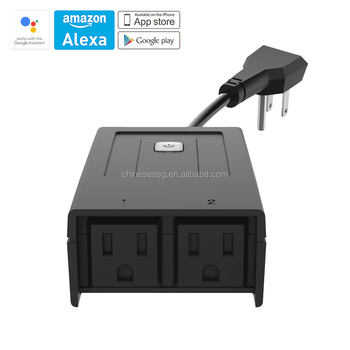 Sh-18 Android And Ios Timing Control Weatherproof Outdoor Wifi Ip44 Smart  Electrical Plug - Buy Electrical Plug,Ip44 Electrical Plug,Smart Electrical