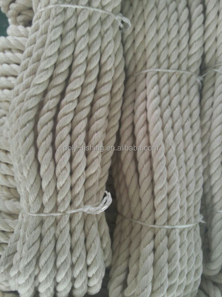 15mm twisted cotton rope