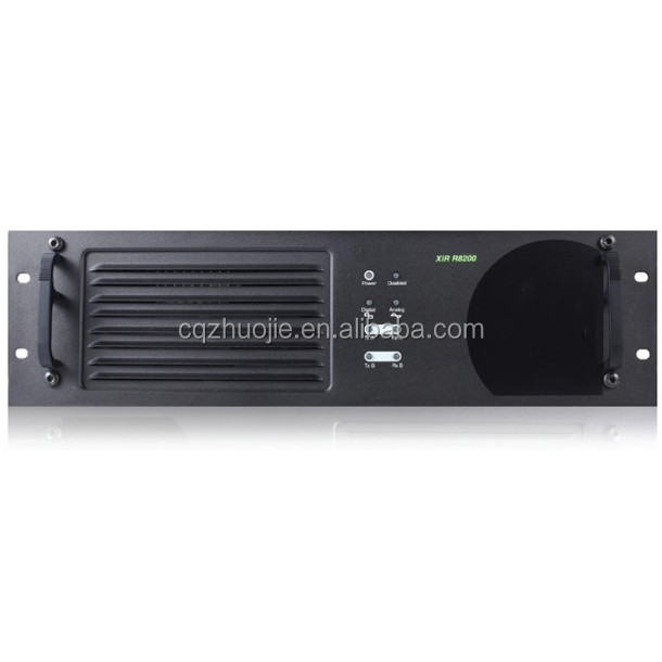 R8200 digital Two Way Radio repeater 25km range Transceiver