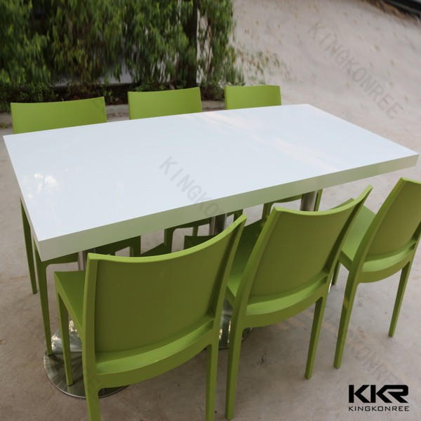 Dining Room Synthetic Stone Anti Stains Tables And Chairs From China Stonecontact Com