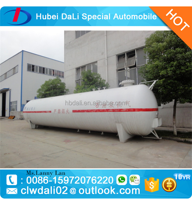 lpg gas storage tank, ISO cryogenic storage tank container