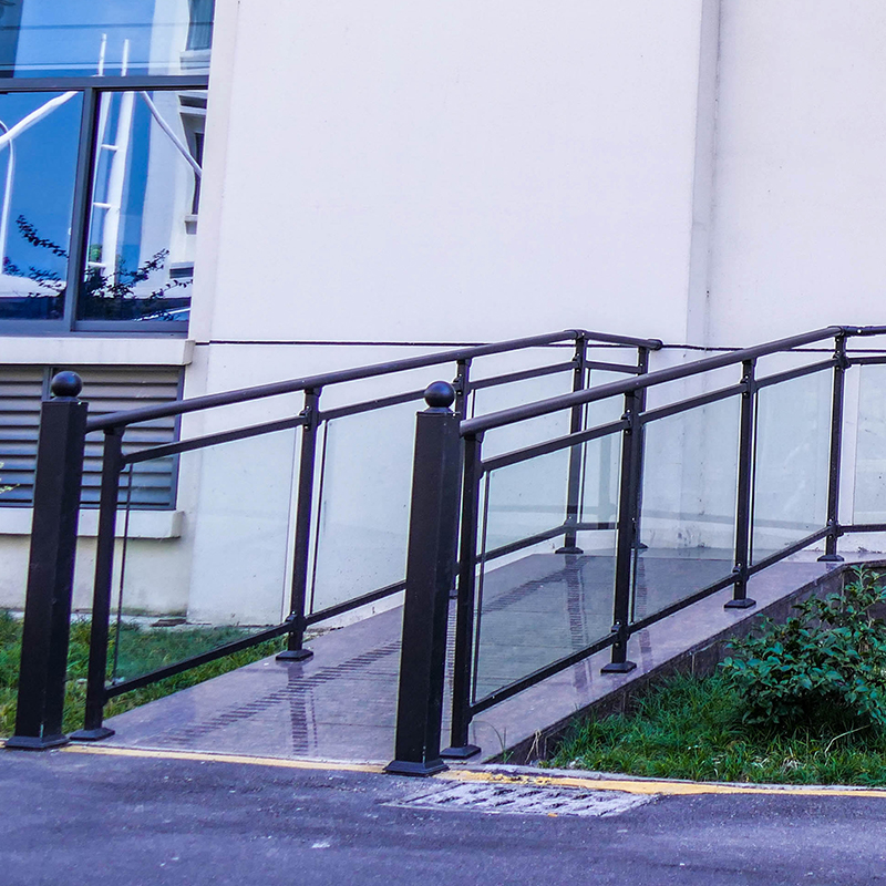 Charmant Outdoor Plexiglass Stair Railing Prefab Modern Fence   Buy Plexiglass Stair  Railing,Prefab Modern Fence,Outdoor Plexiglass Stair Railing Product On  Alibaba. ...