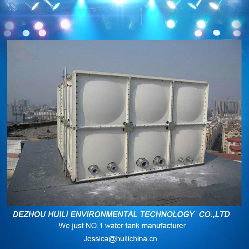 Modular Grp Smc Fiberglass Composite Roof Water Tank Aquaculture ...