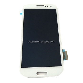 LCD for Samsung Galaxy S3 LCD Display Touch Screen Digitizer Replacement White Black Blue i9300