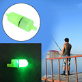 1 pcs Fishing Bells Alarm Clip Night Fishing Rod Tip White LED Light Twin Bells Bite