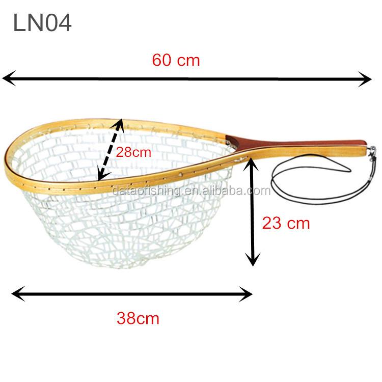 Rubber fishing net bag replacement fishing net plastic for Rubber fishing net