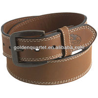 Genuine leather belt/leather belts men/produce custom belt(SA8000, BSCI, ICTI, WCA accredited factory)