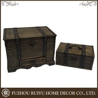China Manufacturer OBM Rectangular Wooden Box