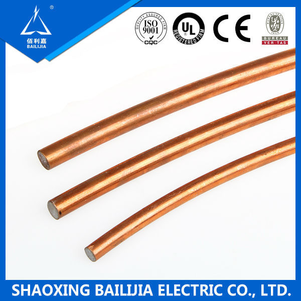 Earthing And Lightning Protection Solid Core Copper Wire - Buy Solid ...