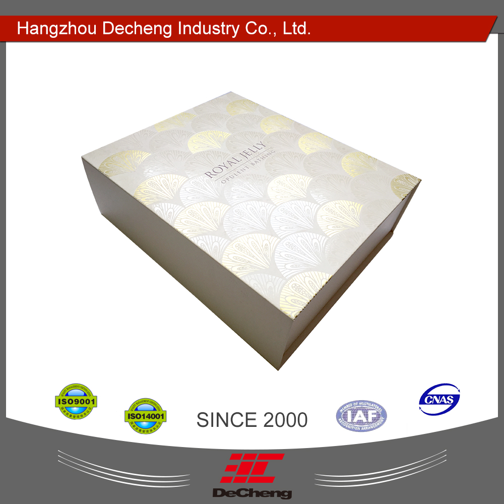 New listing paper carton box with specification simple design packing suit