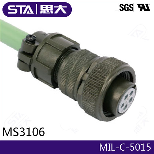 Amphenol MIL-C-5015 Connector 97-3106A-32-17S,4pin Circular Cable Connector,MS3108A32-17/MS3102A32-17P/MS3106A32-17,32-17