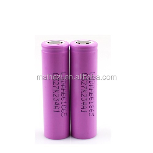 Supply LGDAHB6 3.7v 1500mah rechargeable LG 18650 battery for e-cig / flashlight / power tools