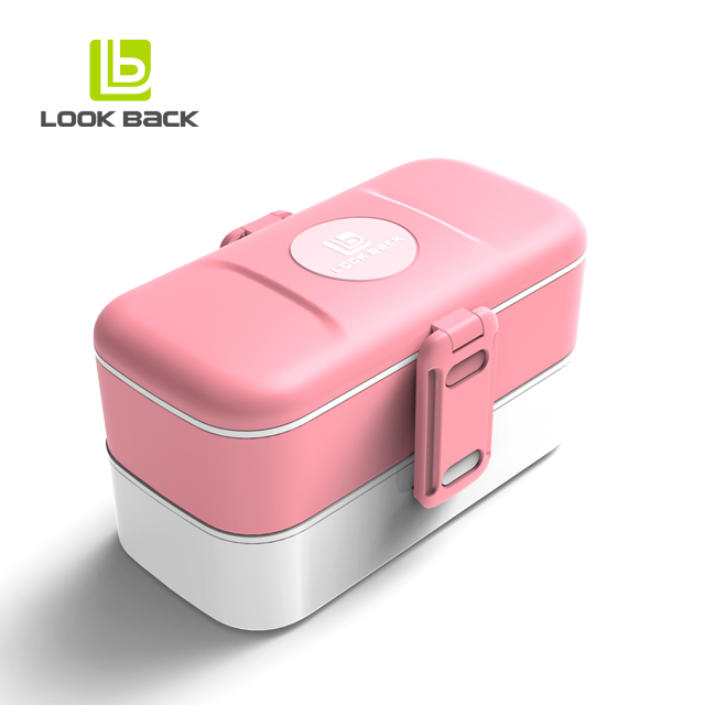 BPA Free Reusable <strong>Plastic</strong> Bento Lunch Box