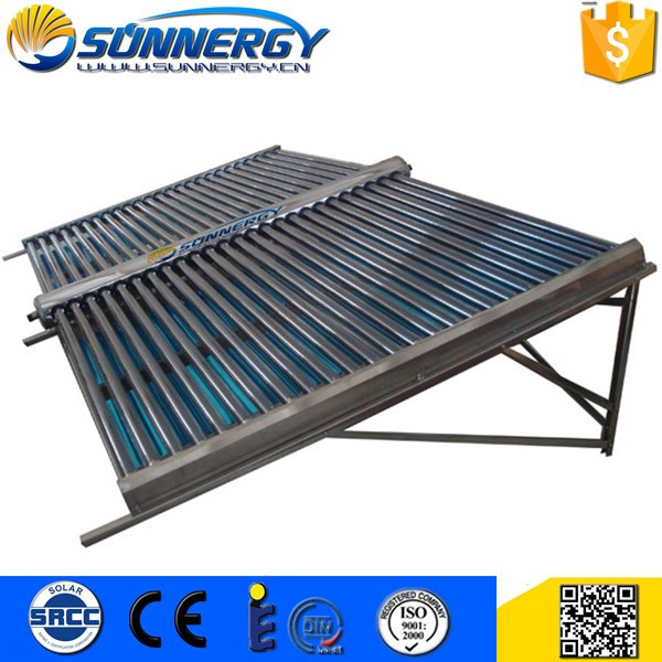 Low Price evacuated tubes solar collector Solar thermal market