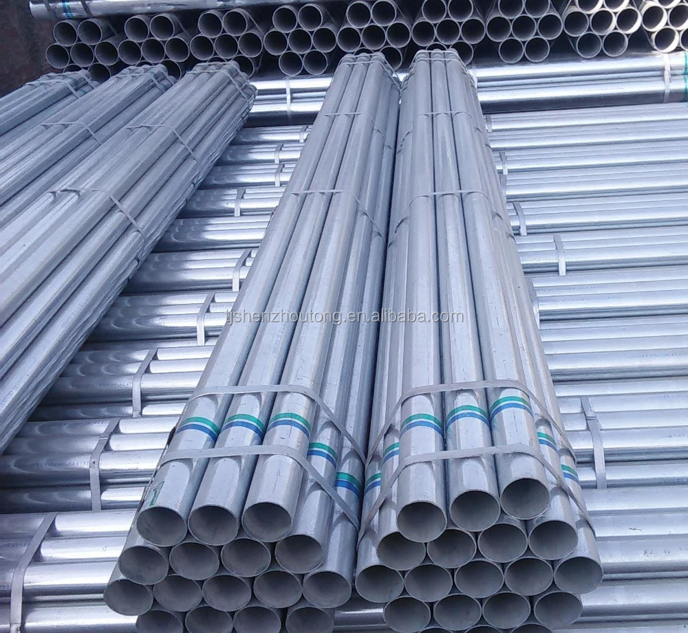 Trade assurance supplier inch bs hot dip gi pipe