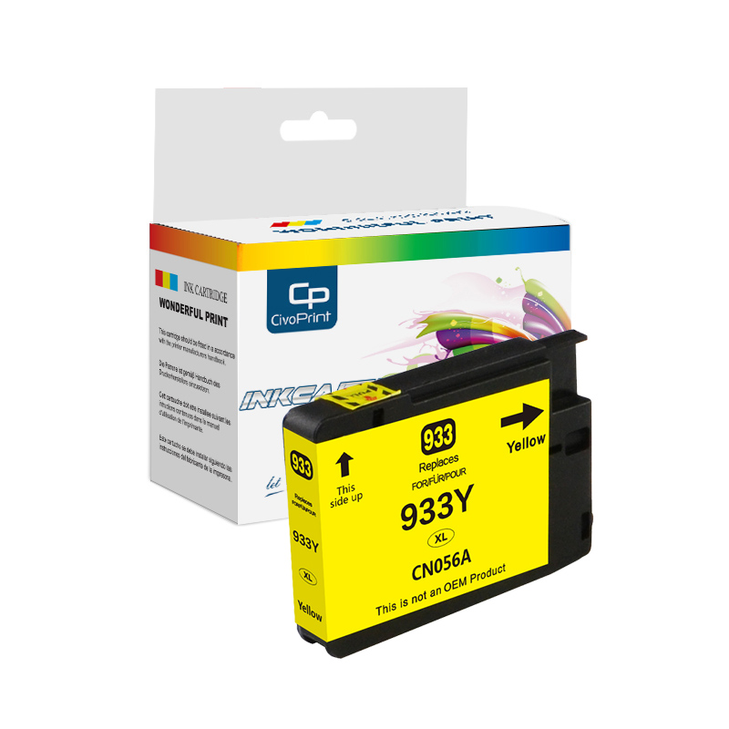 Premium 932xl 933xl 932 933 compatible ink cartridge for Officejet 6100 6700