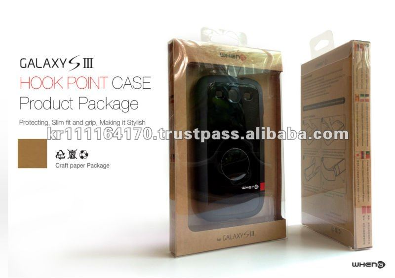 Hard Case for SAMSUNG Galaxy S3 I9300 (Dark Grey / Black)